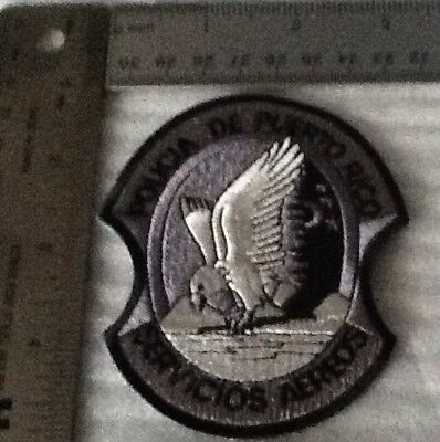 Puerto Rico State Police Aerial Services Tactical Subdued Patch (my last One)