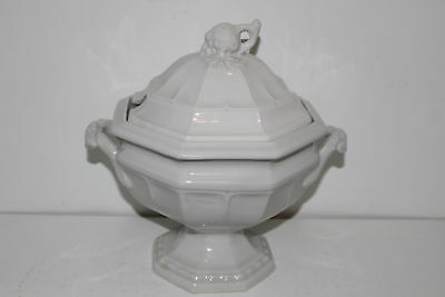 Vintage Red Cliff Ironstone Soup Tureen W/lid