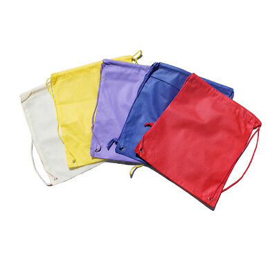 KIDS Drawstring Bags Various Colors and Designs PERSONALIZED FREE