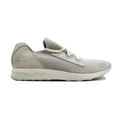 ba99229c4 ADIDAS CONSORTIUM X Wings And Horns Men ZX Flux Primeknit white off ...