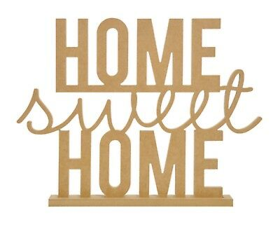 Kaisercraft Beyond The Page BTP - Home Sweet Home Standing Word