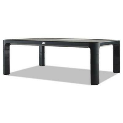 3m & Commercial Tape Div. MMMMS85B Adjustable Monitor Stand - Black
