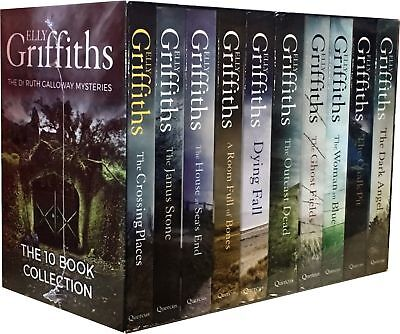 Dr Ruth Galloway Mysteries By Elly Griffiths Collection 10 Books Set Brand NEW
