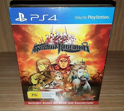 Grand Kingdom PlayStation 4 (PS4) - Brand New & Sealed