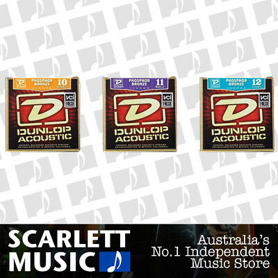Single Dunlop Acoustic Phosphor Bronze Guitar String Strings (Various Sizes)