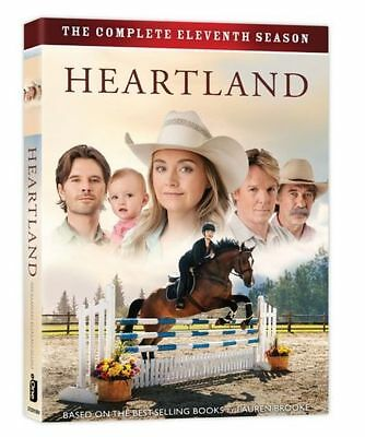 Heartland Season (11) Region 1, North America DVD Boxed Set, 5-Discs (Brand New)