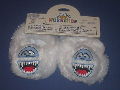 BUILD-A-BEAR Accessory BUMBLE YETI ABOMINABLE SNOWMAN SLIPPERS Christmas