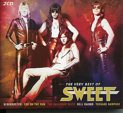 The Very Best Of Sweet - 2 Cd Box Set - Blockbuster, Ballroom Blitz & More