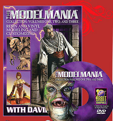 Model Mania Collection Volumes 1, 2 & 3 DVD FREE SHIPPING 19DM161