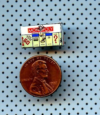 1:24 Half Inch Scale Dollhouse Miniature Cootie Game  Box