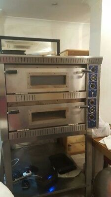 "Electric Pizza Oven 2 X 8 Pizzas 12"" Monophase"