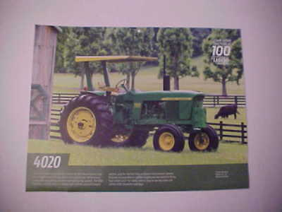 "1963,1964,1965,1966 John Deere ""Model 4020"" photo from NOS calendar--nice JD"