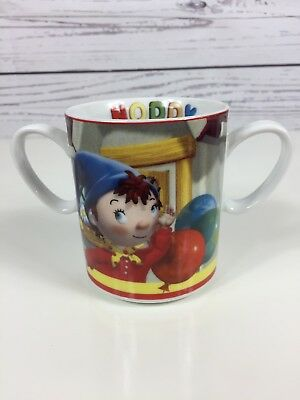 Royal Worcester Double Handle Noddy Mug Cup Enid Blyton Children's Nursery Ware