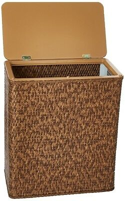 LaMont Limited 1856039 Home Carter Upright Hamper Cappucino Finish