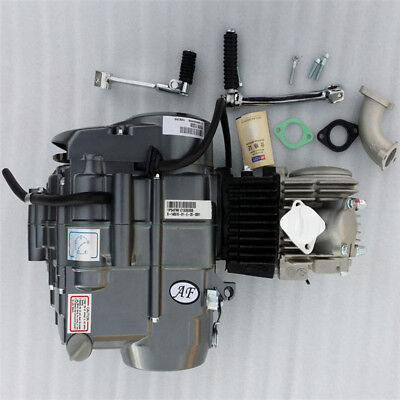 125cc LIFAN Engine Motor 4 Stroke Kick Start Manual Clutch 1 Down 3 up