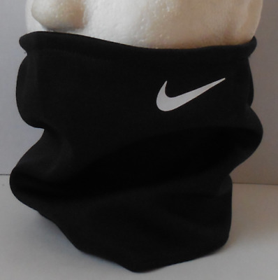 Nike Thermal-Fit Neck Warmer Black/White Youth OSFM