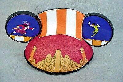 1e173daa1ef8a NEW! DISNEY MOUSE Ears Hat Peter Pan   Captain Hook Pirate Ship ...