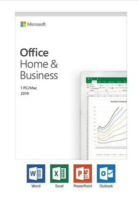 Microsoft Office Home and Business 2019 Mac 1 License Key