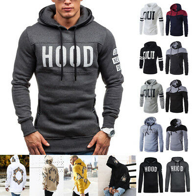 Mens Fashion Long Sleeve Superdry Hoodies Selection - Various Styles & Colours