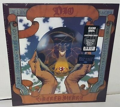 Dio Sacred Heart Clear Vinyl LP 2018 reissue Record new