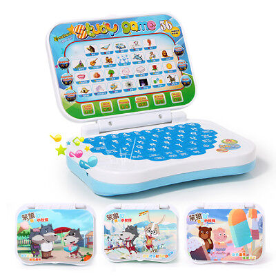 Children Computer Laptop Early Educational Learning Toys Xmas Gift Boys Girl Kid