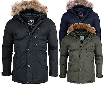 Geographical Norway warme Herren Winter jacke Outdoor Parka Anorak Mantel  AGADA 760684653b4d