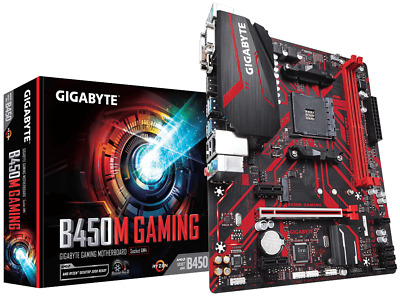 Gigabyte B450M GAMING mATX Motherboard for AMD AM4 CPUs