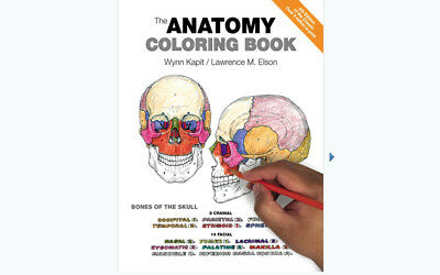 The Anatomy Coloring Book 4th Edition by Wynn Kapit -Lawrence M. Elson