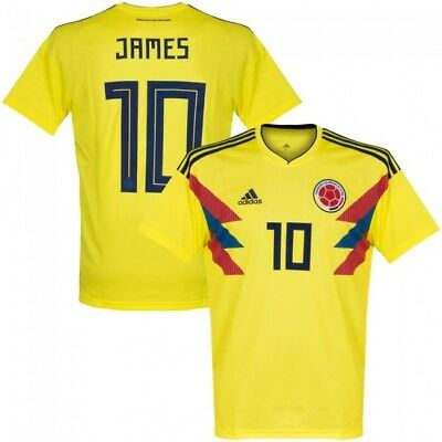 a48c6ff9b COLOMBIA SHIRT FOOTBALL World Cup Official 2018 - £36.00