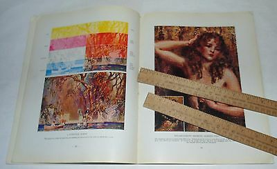 The ART of PHOTO ENGRAVING - copyright 1929 - illustrated paperback BOOK