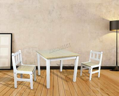 FoxHunter Childrens Table And Chair Set - Kids Bedroom Furniture Arts & Crafts