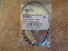 GENUINE VOLKSWAGEN USB APPLE LIGHTNING CABLE 30cm  000051446AP 000051446S