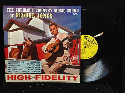 George Jones-Fabulous Country Music Sound Of-Starday 151-RARE