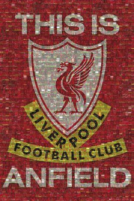 Liverpool FC Poster Photomosaic This Is Anfield LFC 61x91.5cm