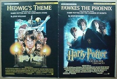 Harry Potter Movie Sheet Music (2) 2001-02- Sorcerer's Stone, Chamber Of Secrets