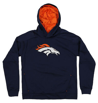OuterStuff NFL Youth Denver Broncos Mach Speed Pullover Hoodie 777d2fd86