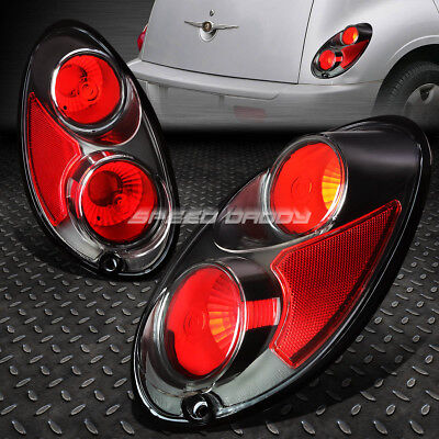 For 2001-2005 Chrysler Pt Cruiser Black Housing Altezza Euro Tail Brake Light