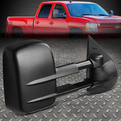 For 07-14 Silverado/sierra Right Side Powered Adjustment+Heated Towing Mirror