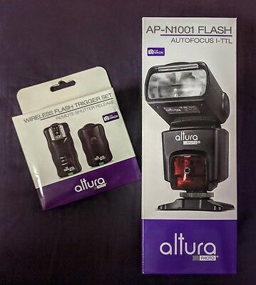 New Altura Photo Ap Fls N101 Auto Focus Ttl Flash Wireless Flash