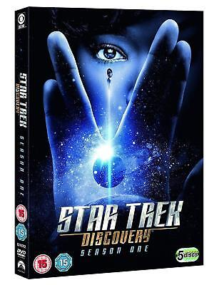 STAR TREK: DISCOVERY 1 (2017-2018) BRAND NEW TV SERIES SEASON - Eu R2 DVD not US