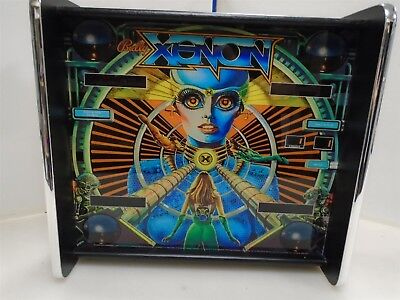 Bally Xenon Pinball Head LED Display light box
