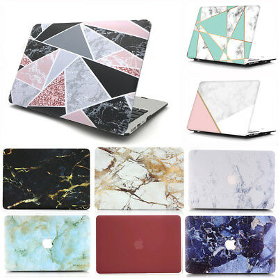 """2in1 Marble Frosted Matte Hard Case Shell for MacBook Pro 13""""/13.3"""" (2016-2018)"""