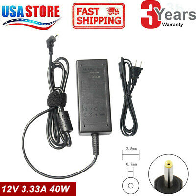 AC Power Adapter Charger For Samsung Chromebook XE500C13-K05US XE500C13-K04US