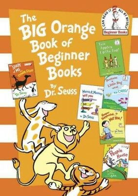 Big Orange Book of Beginner Books, Hardcover by Seuss, Dr.; McKie, Roy (ILT);...