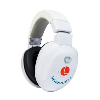 Lucid Audio LU-INFANT-WH HearMuffs Infant White Safety Protection Earmuff