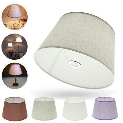 8'' 10'' 14''Cotton Coolie Table Lamp Ceiling Pendant Lampshade Light Shade NEW