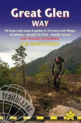Great Glen Way: 40 Large-Scale Maps & Guides to 18 Towns and Villages - Planning