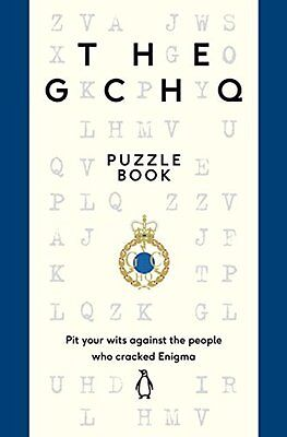 The GCHQ Puzzle Book by GCHQ, NEW Book, (Paperback) FREE & Fast Delivery
