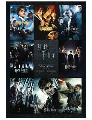 Harry Potter in schwarzes Holz eingerahmtes From Boy to Wizard Poster 61x91,5cm