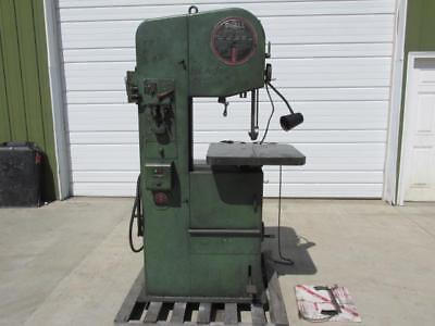 "DoAll Model 1612-0 Vertical Metal Cutting Band Saw 16"" x 12"" Variable Speed"